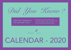 Did You Know? Calendar 2020