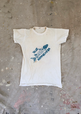 Blue Baracudas vs. White Stingrays Camp Tee