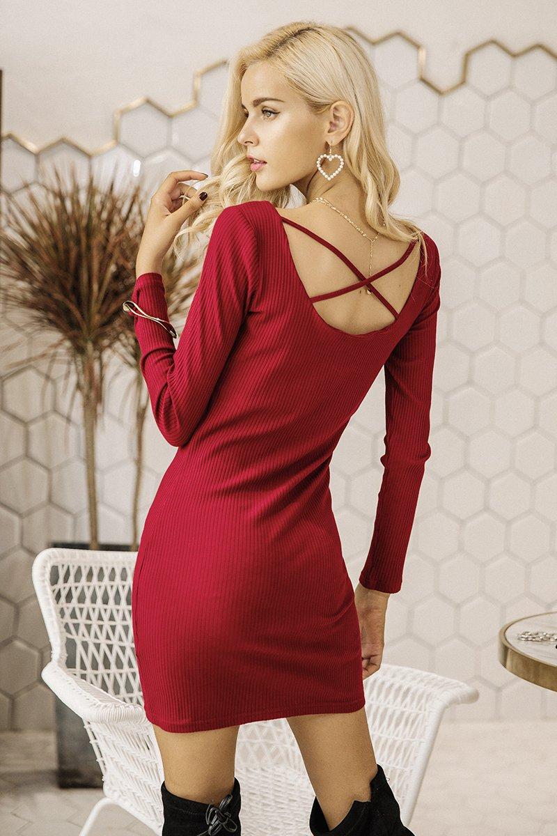 Nalaa - Bodycon Dress - Divinae