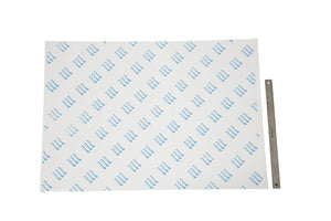 "Double-Sided High-Tack Adhesive Sheets, 70cm x 100 cm, 27.5"" x 39"" (25 sheets)"