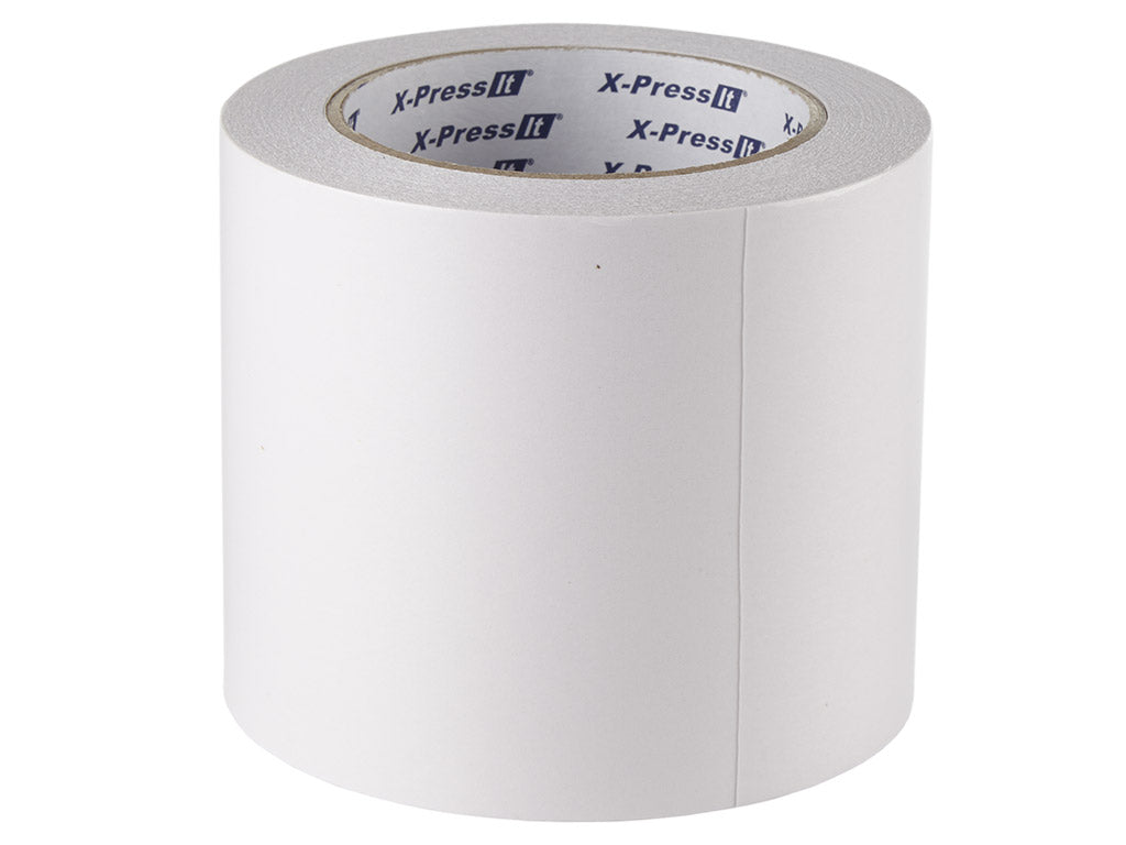 "Double-Sided Tissue Tape 100mm, 4"" x 27yds"