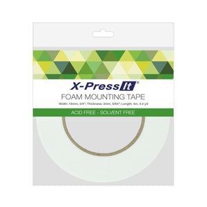 "Double-Sided Foam Tape, 18mm x 4m, 3/4"" x 4.4yds"