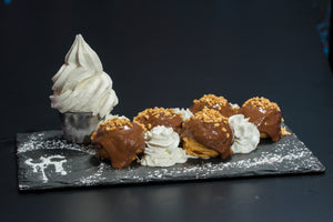 Nutty Profiteroles