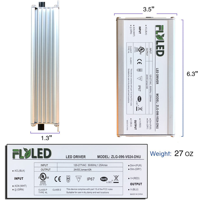 24 V LED Dimmable Driver