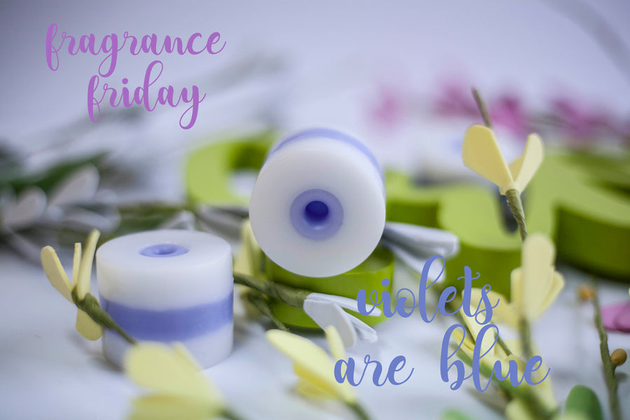 Fragrance Friday-Violets Are Blue