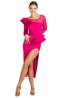 Dance Box Broadway Latin Frill Dress