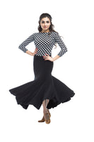 Bordeaux Ballroom Skirt
