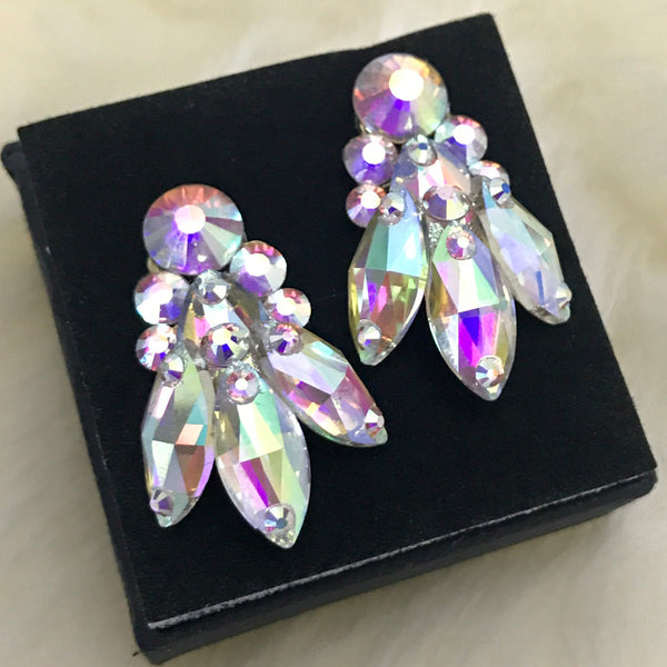 Dance With Crystals Fantasy earings