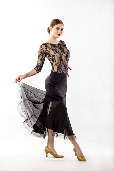 Dance Box Hour Glass Long Skirt