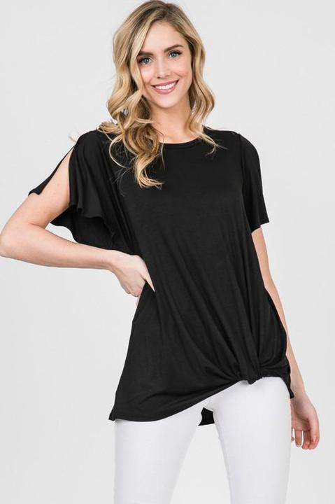 Split Sleeve Shirt