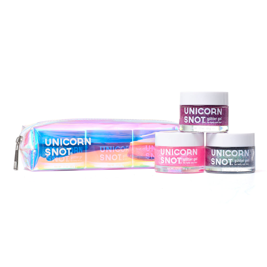 Unicorn Snot Holographic Glitter Gel Gift Set