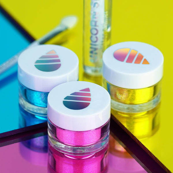 Holographic Lip Glitter Kit