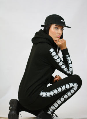 Girls Signature Tape Tracksuit Top