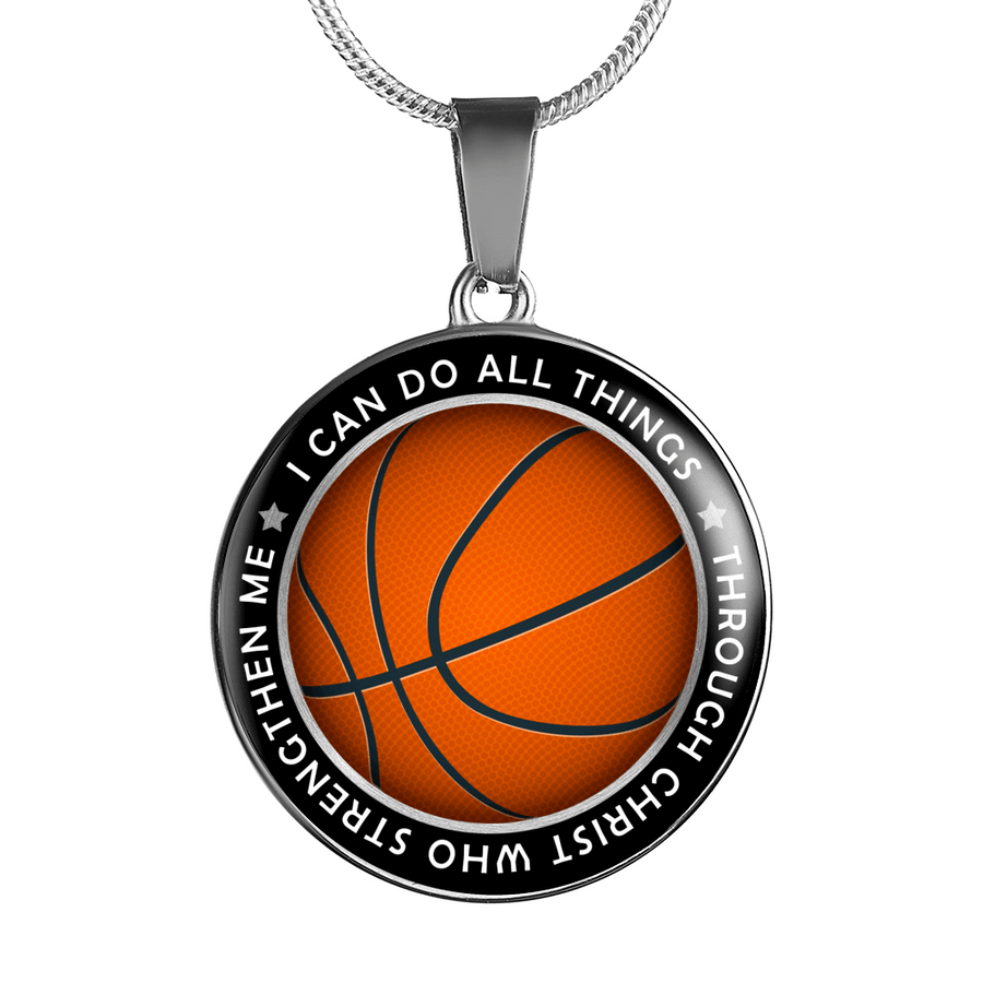 I Can Do All Things Through Christ Who Strengthen Me Necklace - faithinlord