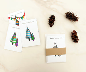Colour in your own Alpine Christmas cards - pack of 5