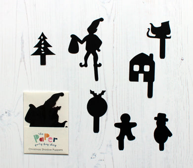 Christmas Shadow Puppets - Eco Friendly Stocking Fillers