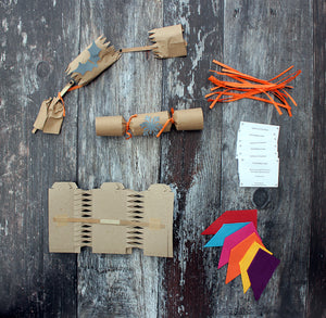 Make your own Mini Eco-friendly Christmas Crackers