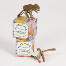 PLAYin CHOC kids Dinosaur - Organic Dairy Free Chocolate and Surprise Toy