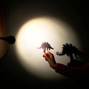 Paper party bag shop toy - kids shadow puppet. Eco party bag filler