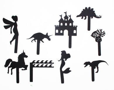 shadow puppets, kids paper toys, eco toys