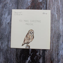 naked christmas card, eco-friendly christmas card, no plastic christmas card