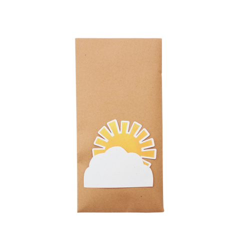 Sunshine Party Bag with fun string fastening