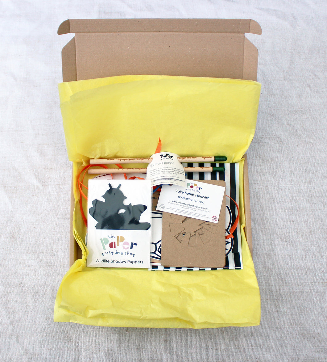 [plastic free party bags] - [the paper party bag shop]