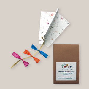 Decorate and Assemble your own Paper Kites