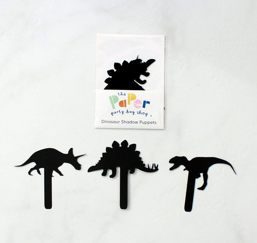 Dinosaur shadow puppets - Eco Friendly Stocking Filler