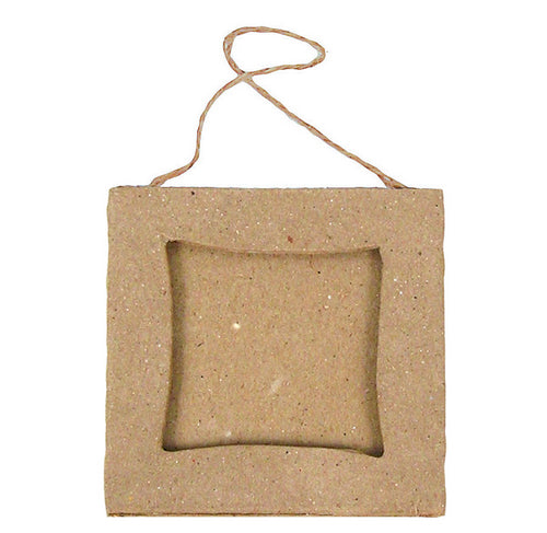 Mini cardboard frame with square centre