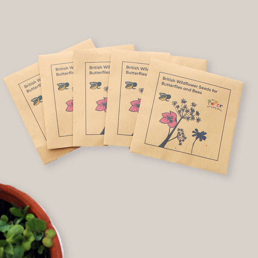 British Wild Flower Seeds for Butterflies and Bees