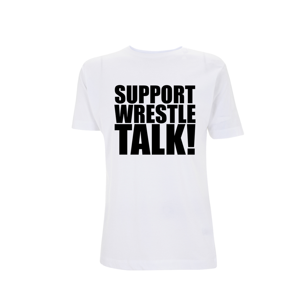 'SUPPORT WRESTLETALK' White T-Shirt