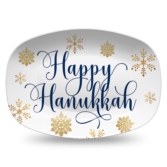 Happy Hanukkah Holiday Platter