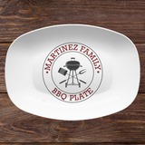 BBQ Custom Personalized Platter | Father's Day • Grill • Butcher Cuts