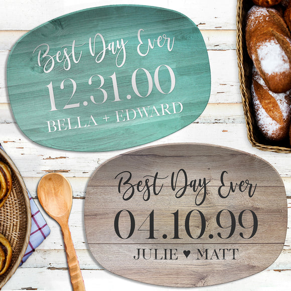 Best Day Ever | Personalized Platter