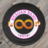Reagan Band Loop - Black Plate