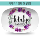 Custom Farmhouse Style Personalized Platters | Choose Your Design