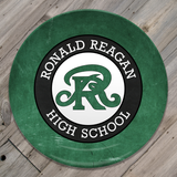 Reagan H.S. - Green Plate
