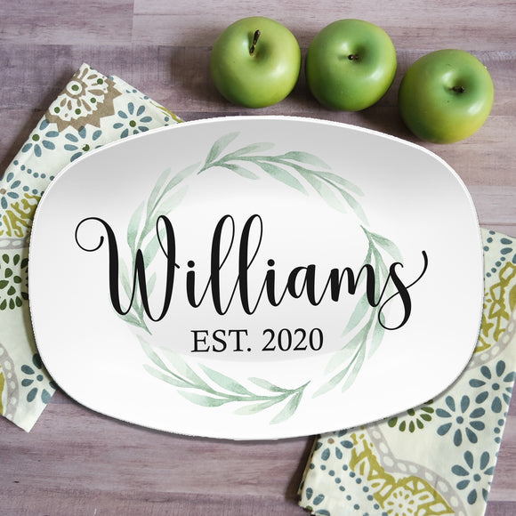 Custom Farmhouse Personalized Platters