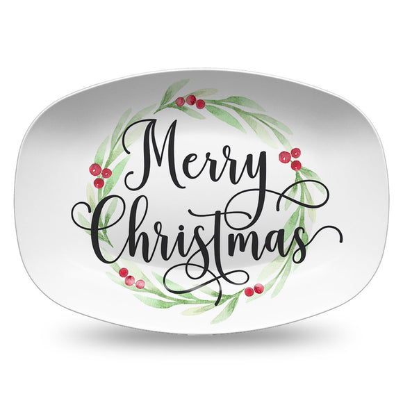 Merry Christmas Holiday Platter