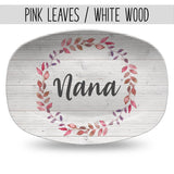 Mother's Day Custom Personalized Platter | Gift for Mom or Grandma