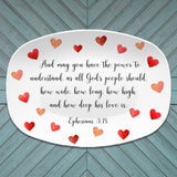 Quotes/Bible Verse Custom Personalized Platter - Customize Text