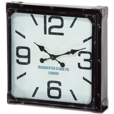 vile clock metal frame