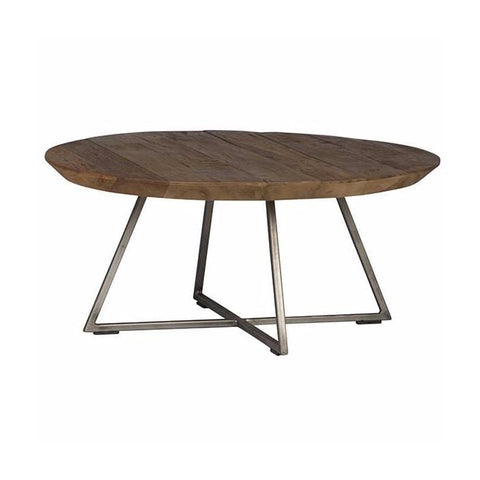 Askia Coffee Table teak metal living room