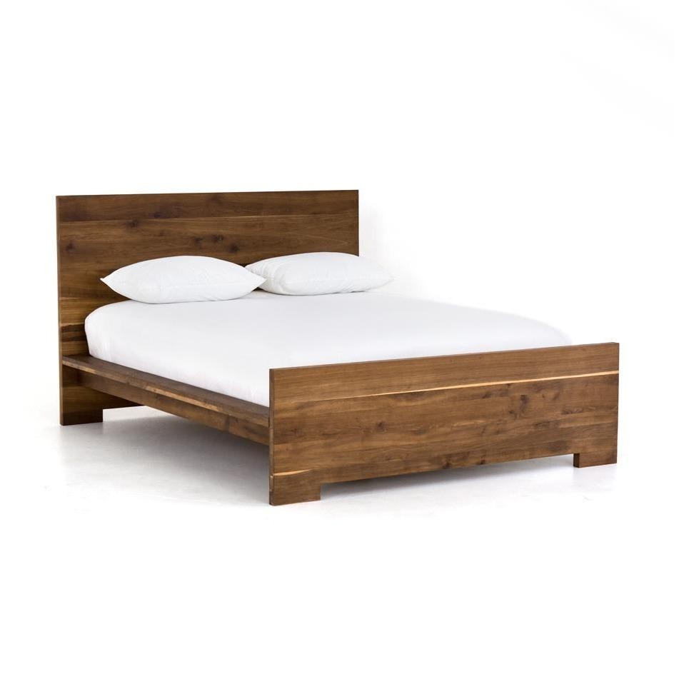 Holbrook bed reclaimed oak modern rustic