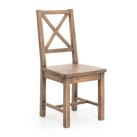Calloway reclaimed pine wood dining chair