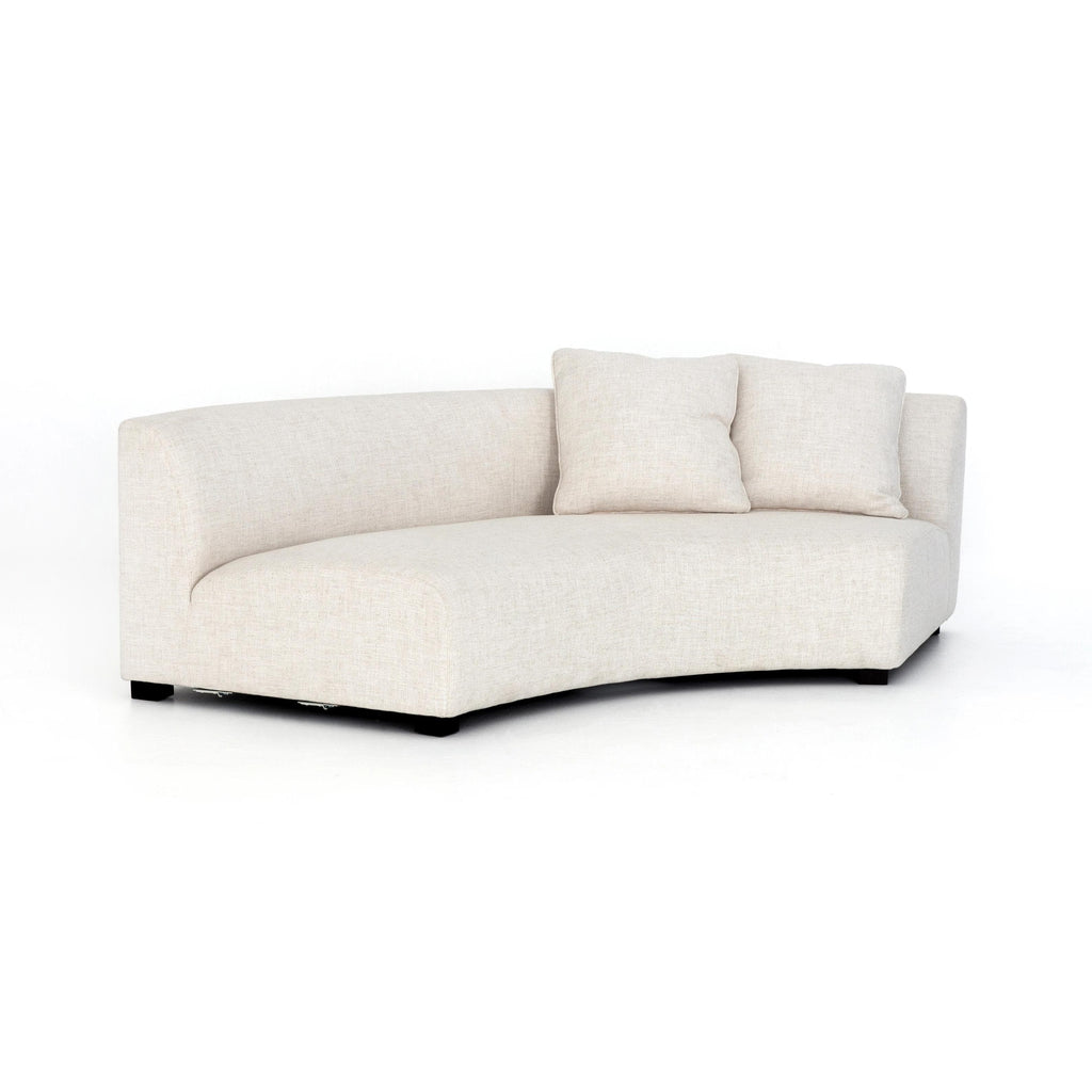 Astonishing Crescent Sofa 106 Brown And Beam Furniture Caraccident5 Cool Chair Designs And Ideas Caraccident5Info