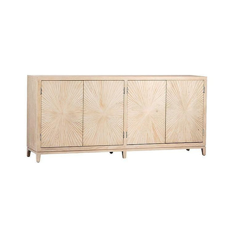 Ambrose Sideboard in seashell white made of pine wood main view