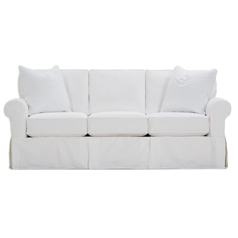 Annie Sofa Sleeper Ghost White Upholstery Blend Main View