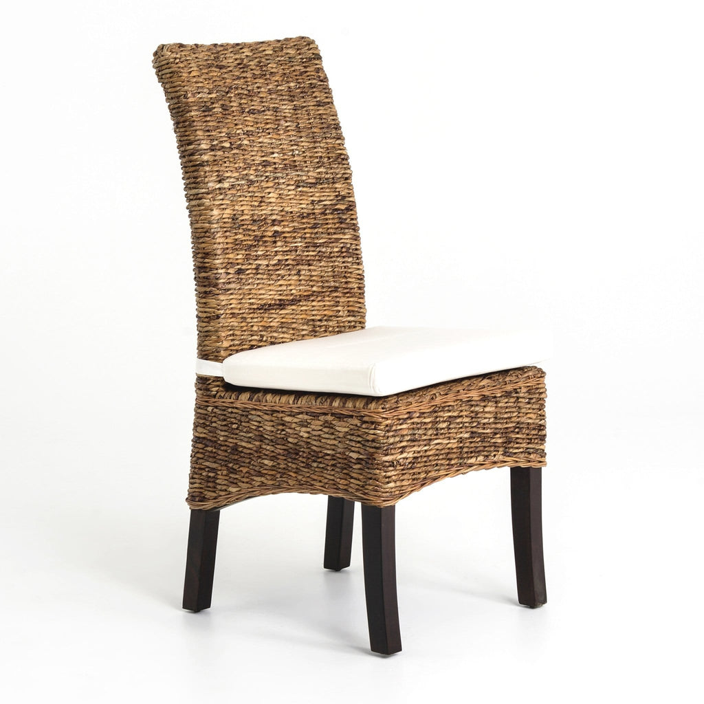 Ashley dining chair natural brown
